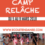 CAMP RELÂCHE 2018